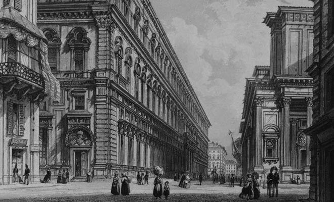 Palazzo dell'Accademia di Scienze, 1853