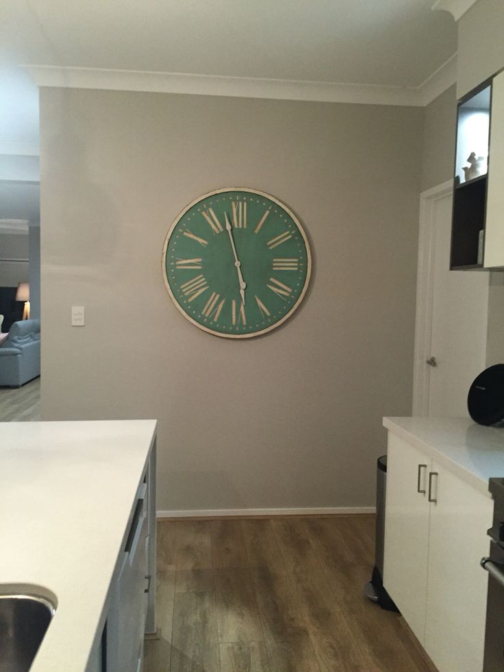 This clock was just made for my kitchen ❤️❤️❤️
