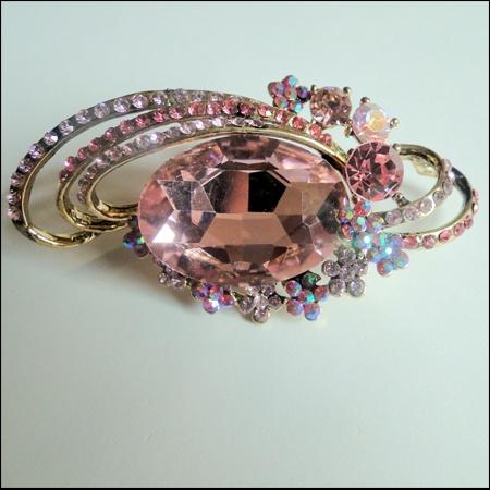 Pink hijab pin(Islamicgems)