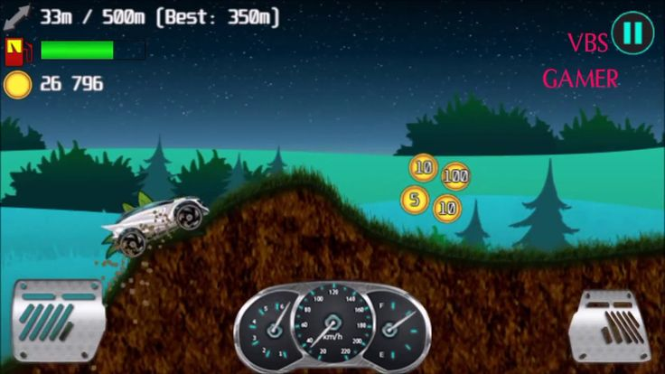 Alien Planet Hill Racing Babies Android Gameplay Night Bike 1
