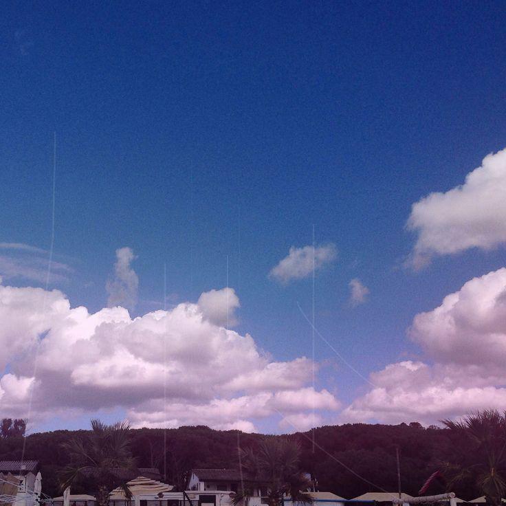 Cotton sky ☁️☁️☁️ :)