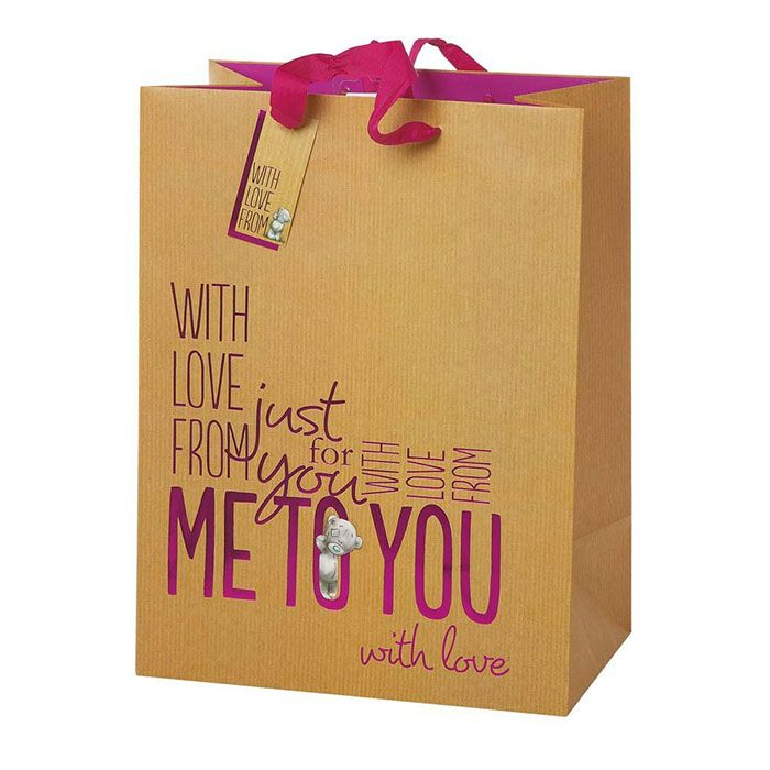 Extra Large Me to You Bear Shopper Gift Bag £4.00
