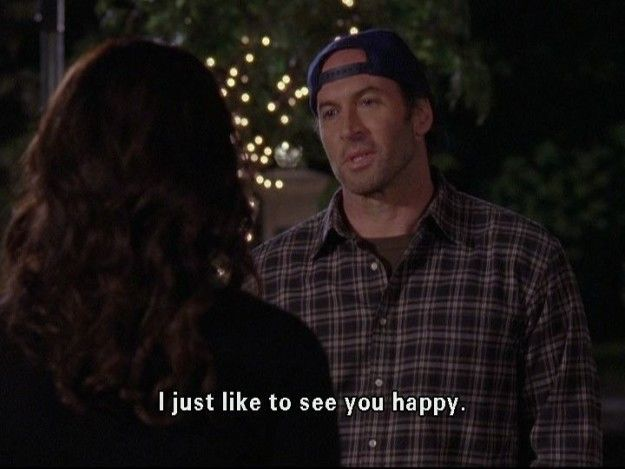 "On selflessness: | 21 Of Luke Danes' Best Lines On ""Gilmore Girls"""