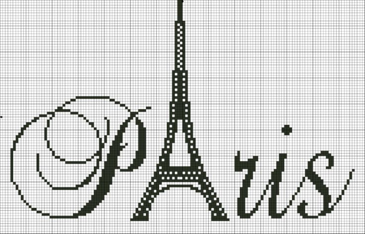 France - country - paris - point de croix - cross stitch - Blog : http://broderiemimie44.canalblog.com/