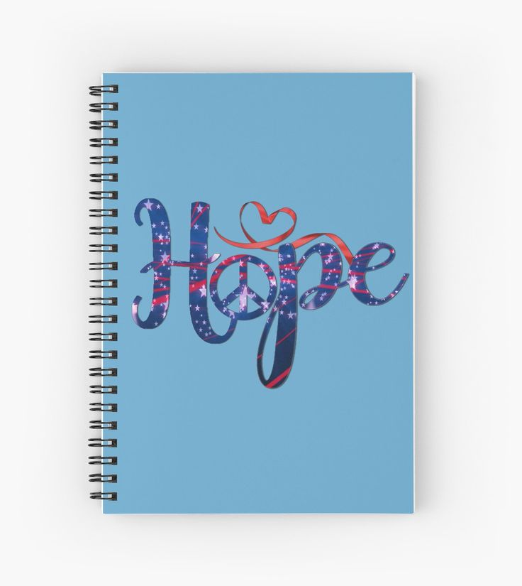 Hope For Peace | Hardcover journals also available in ruled line, graph, or blank.