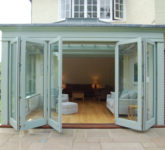 Cleaner looking bi-folds with lantern