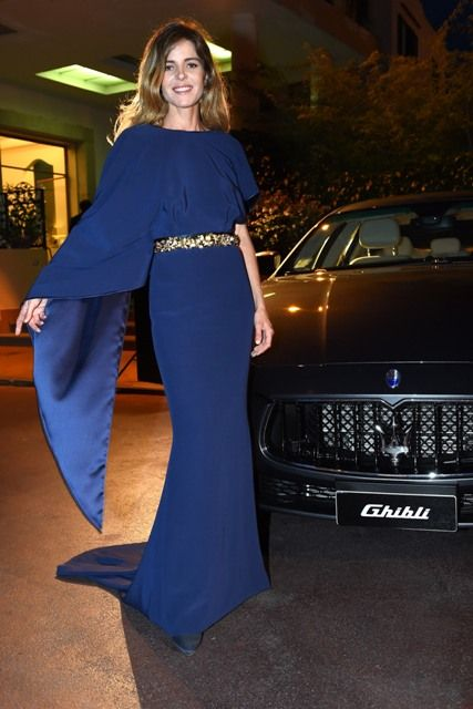 Elisabetta Pellini attends the Ischia Global Fest on July 16, 2014 in Ischia, Italy.