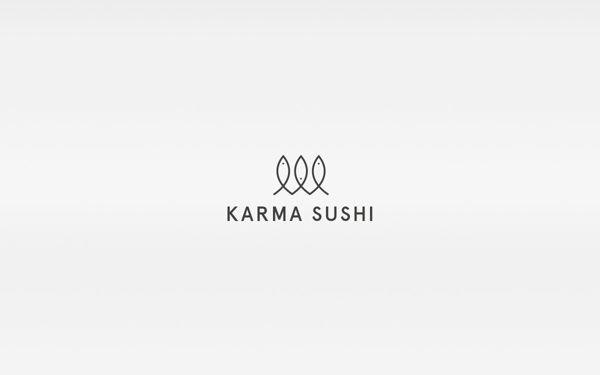 Karma Sushi by Kasper Gram, via Behance