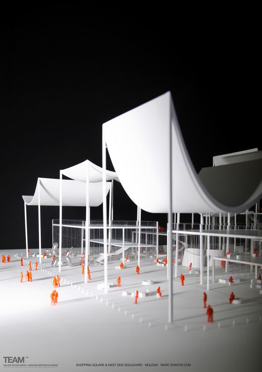 TEAM730 Designs a Multifunctional Street for China's MOLEWA Competition,© Marcos Betanzos