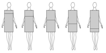 How to use optical illusions to look thinner and taller