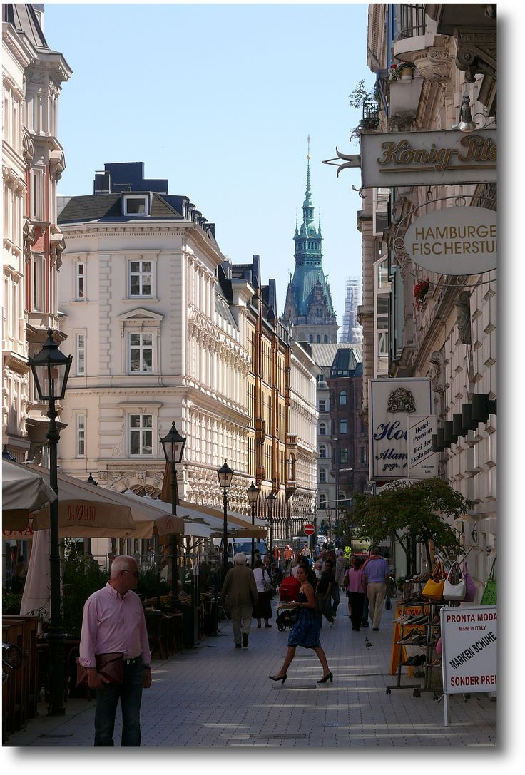 Hamburg, Colonnaden