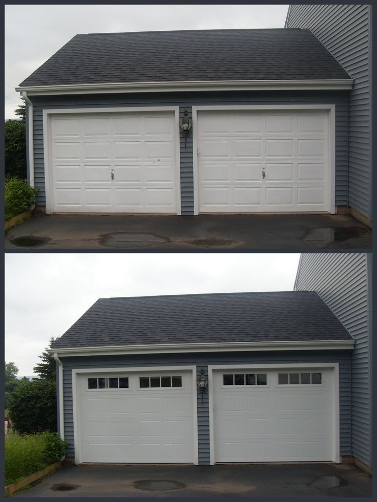 Before Amp After Garage Doors New V5 Thermacore Collection