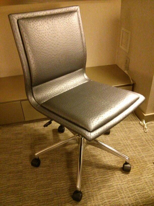 Silver Ostrich Work Chair Work Chair Chair Furniture
