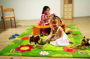 #Alfombra infantil jardin #facil limpieza #calidad - Tienda Educamueble