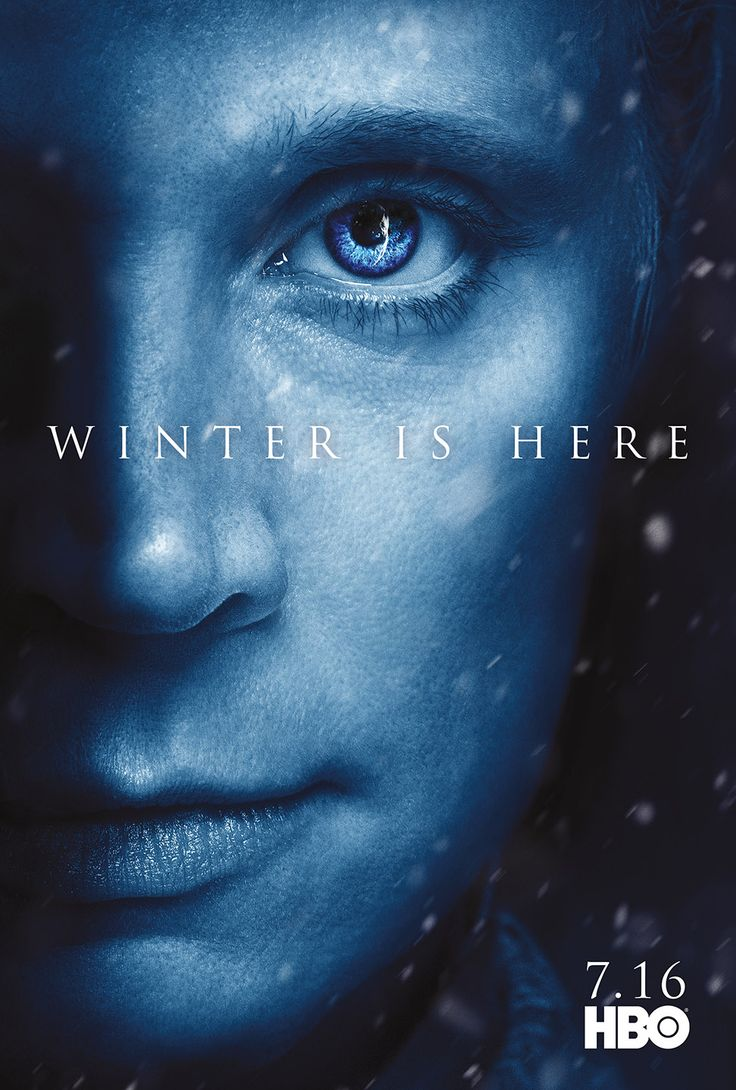 Character Posters for Game of Thrones Season 7 Revealed – Winter is Here!: BRIENNE