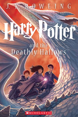 Harry Potter and the Deathly Hallows:  new cover!