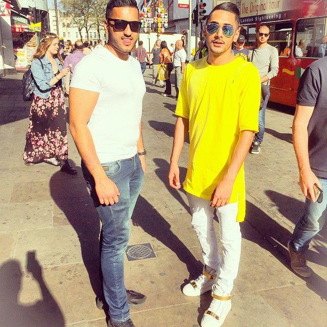 What a day with @sh0_khan & Raju  #Shopping #CentralLondon #GotMyShadesOn #Leggo