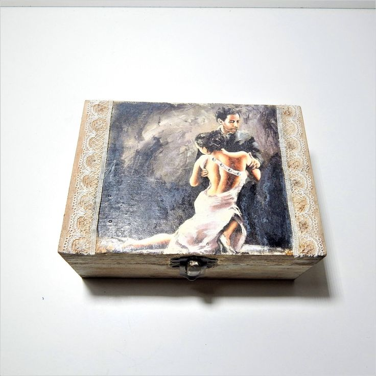 Excited to share the latest addition to my #etsy shop: Decoupage Box Jewelry wooden Box Wedding Wishes Box Vintage Box Storage box jewellery wooden box keepsakebox rustic box http://etsy.me/2nT39Ud #housewares #decoupage #woodenbox #jewwelbox #storagebox #decoupagebox