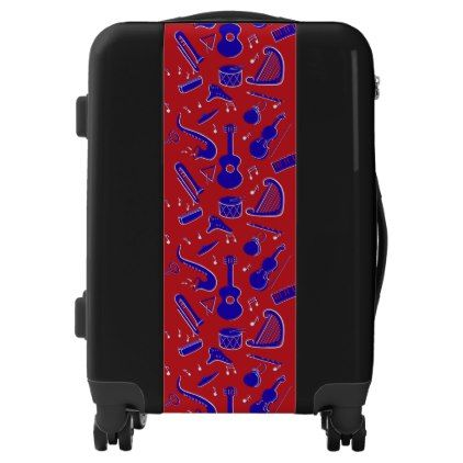 #Musical Instruments Luggage - #custom #luggage #suitcase #suitcases #bags #trunk #trunks