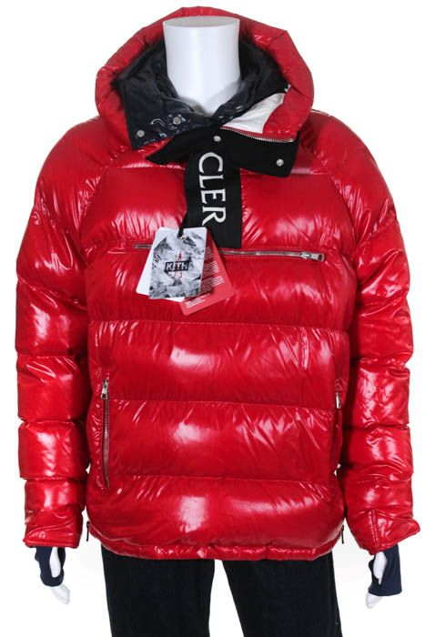 Moncler X Kith Mens Bright Red Quilted Pullover LaChat Jacket Size 3 New With Ta | Men's Clothing | Pinterest | Moncler, Pullover and Bright