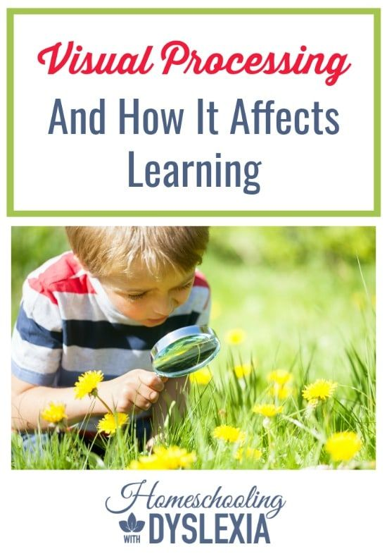 Visual Processing and Learning  Could your child's learning struggles be affected by his or her weak visual processing skills?