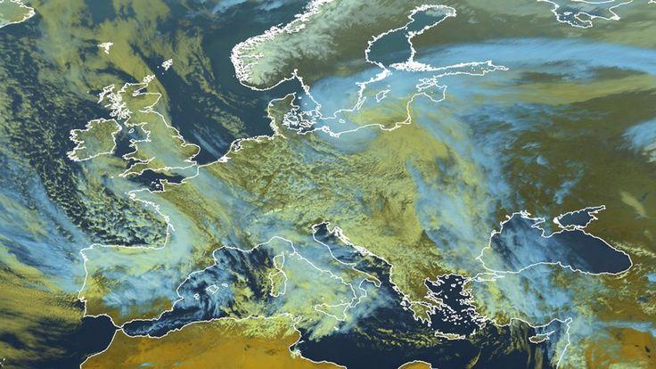 La météo européenne
