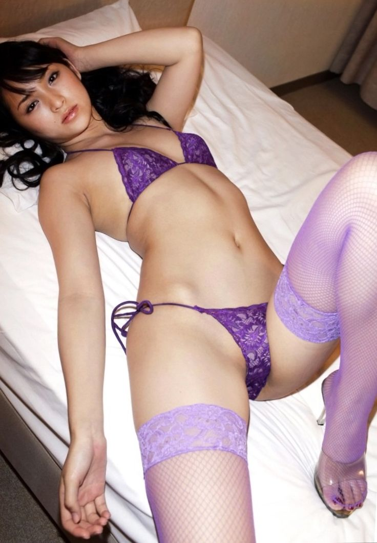 STUNNING Busty asians purple the real