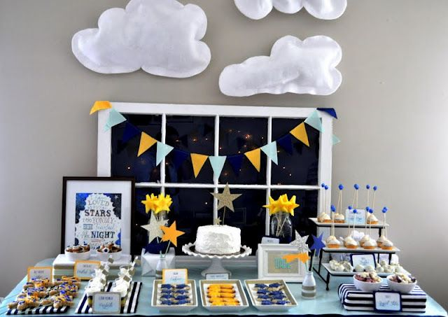 Twinkle Twinkle Little Party via Shannanigans. Cutest kids party EVER!!