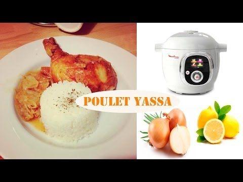 Recette du poulet Yassa avec le cookéo de Moulinex - YouTube