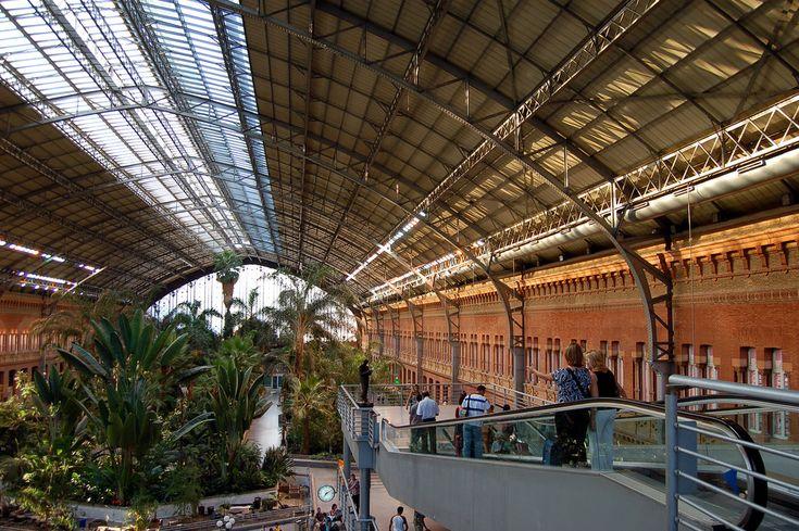 las 11 estaciones de tren más bonitas de España Estación de Madrid Atocha