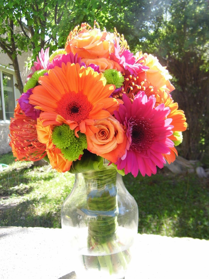 wedding flowers mn bright and colorful bridal bouquet created by 9613