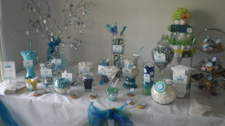 Great idea for a Baby Boy Shower