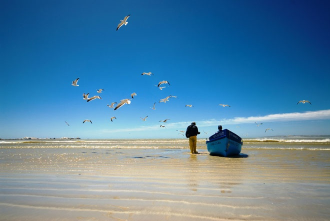 The picturesque fishing village of Paternoster