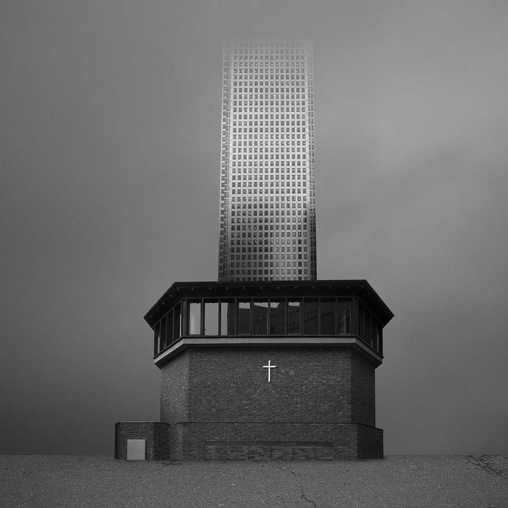 Archisculpture: Surreal Architectural Collages by Beomsik Won #inspiration #photography