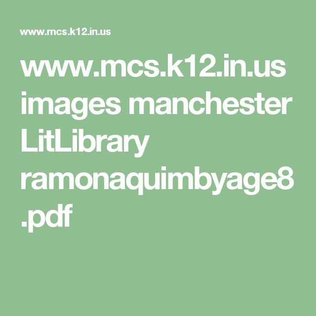 8 best school reading comp questions images on pinterest school mcsk12 images manchester litlibrary ramonaquimbyage8pdf fandeluxe Choice Image