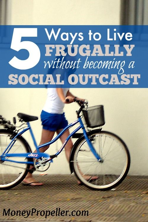 Do you fear that your frugal lifestyle will make you an outcast? Here are a few suggestions on how to live frugally without it being a pain to you and everyone else. http://moneypropeller.com/5-ways-live-frugally-without-becoming-social-outcast/