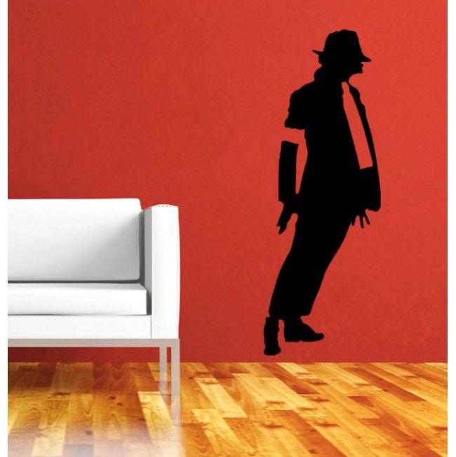 Michael Jackson Premium Vinyl Wall Sticker