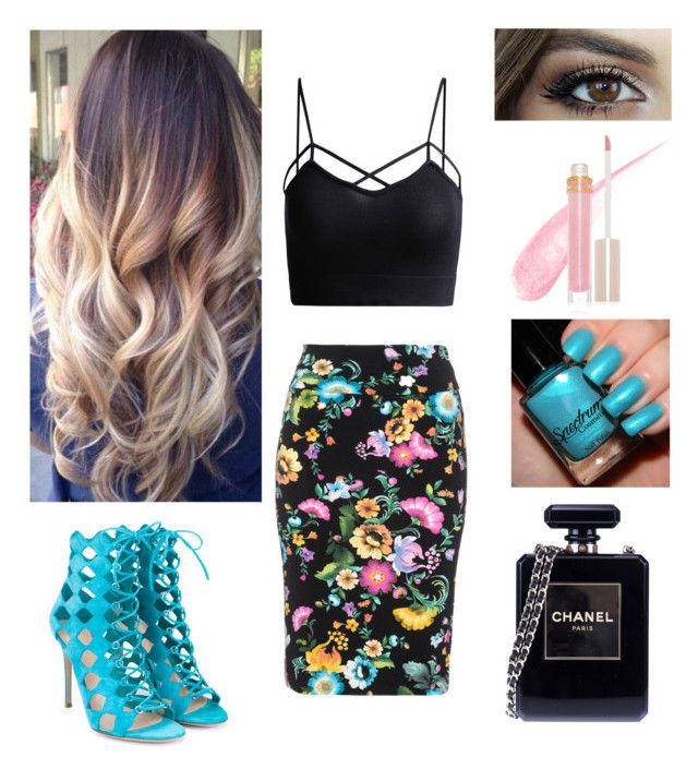 """""""Untitled #66"""" by oken-demir on Polyvore featuring Chanel, Stila, Gianvito Rossi and Yoek"""
