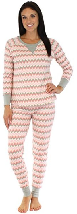 Stewart Plaid & Nordic PJs for Women favorites and save $20! She'll receive: Steward Plaid Thermal-Top Pajamas - full-length pants made of yarn-dyed, double-brushed flannel in the classic Stewart plaid paired with a red thermal top. Elastic, drawstring waist. Nordic Pajamas - full-length pants with a festive nordic print paired with a.