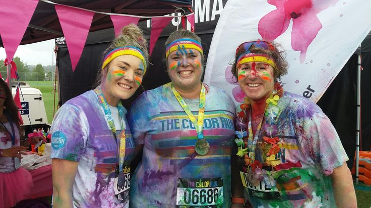 NZ Color Run Albany Auckland March 12 2017