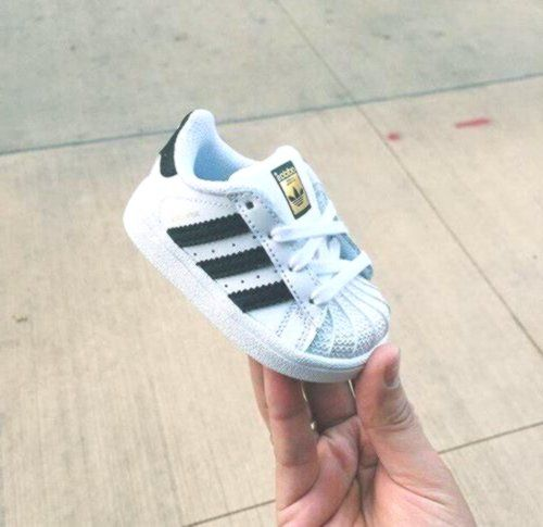 Adidas   Cute baby shoes, Girls sneakers outfit, Baby nike shoes