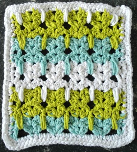 Best Free Crochet » #274 Kitten Crazy Crochet Dishcloth – Maggie Weldon Maggies Crochet