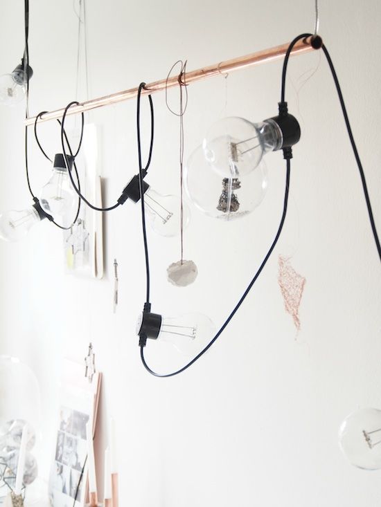 creative lighting // My Space: Mette of Monsters Circus