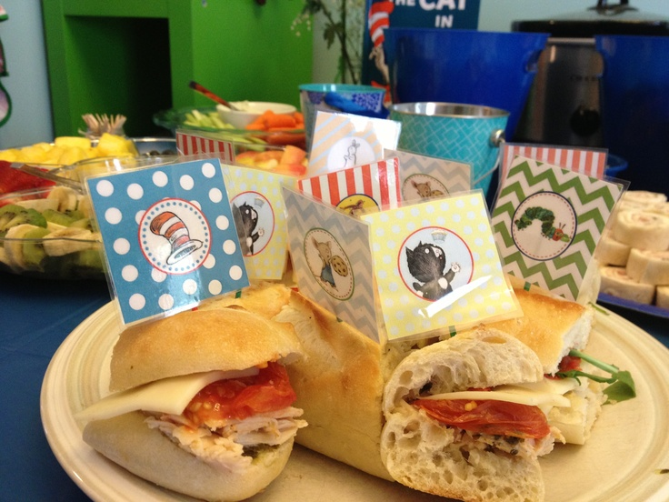 book themed baby shower sandwiches mimi and papi board pinter