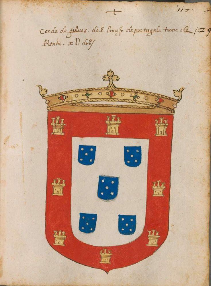 Armas de los Condes de Gelves G.E.
