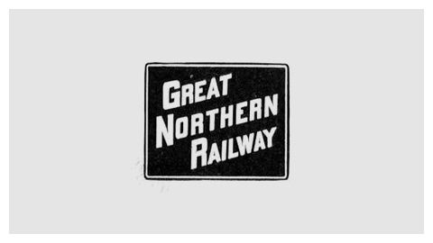 Railroad company logo design evolution