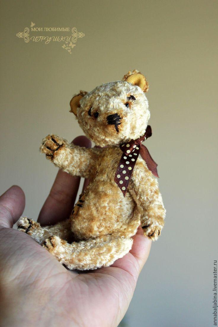 Купить Осенний лучик, медведь тедди - золотой, тедди, мишка, мишка тедди…