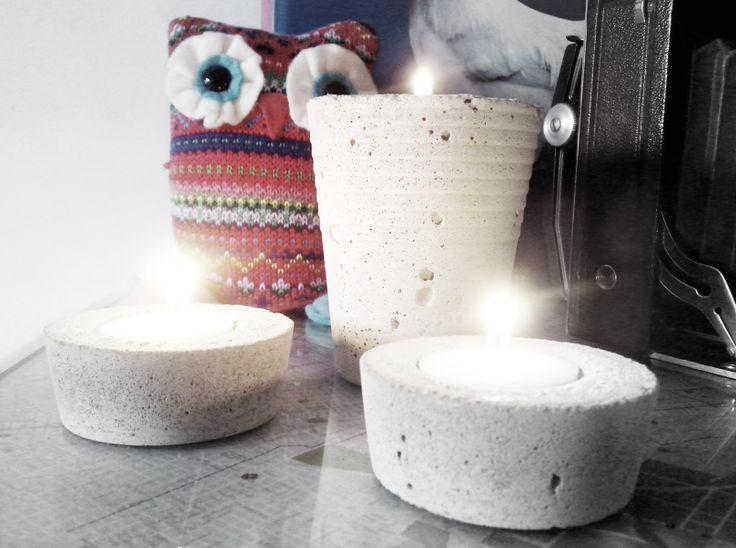 Concrete Candles indiestu.com