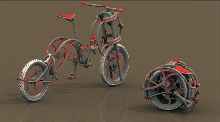 Dubike concept folding bike 1