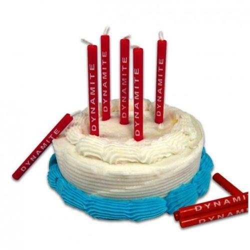 ... -Kerzen-Dynamit-Kerze-Kuchendeko-Geburtstag-Geburtstagskerzen-rot